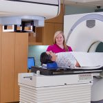 Chesterfield imaging CT scan room interior