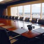 Hunton and Williams Firm Headquarters board room interior