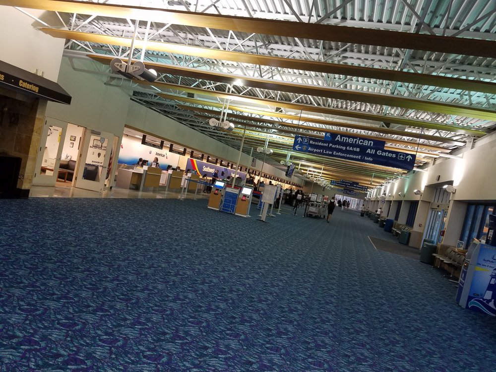 Long Island Macarthur Airport New Concourse South West