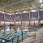 James Madison University Student Fitness Center pool in Harrisonburg, VA