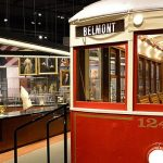 Virginia Historical Society Addition with trolley car
