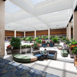 Norfolk Airport lobby