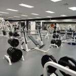 University of Virginia Slaughter & North Grounds Recreation Center weight room interior in Charlottesville, VA